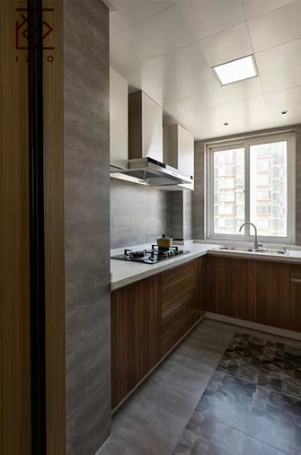 10-15万80平米北欧风格厨房图片
