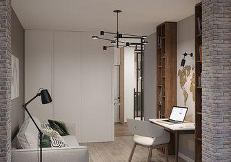 70平米一居室现代简约风格书房装修图片大全