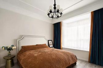 富裕型120平米三室两厅美式风格卧室欣赏图