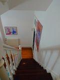 140平米复式田园风格楼梯间图片