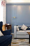 5-10万90平米北欧风格客厅装修图片大全