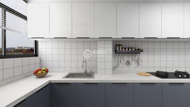 60平米公寓田园风格厨房装修案例