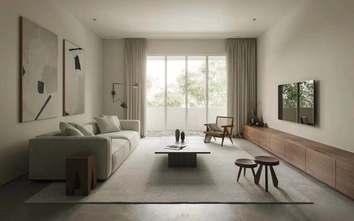 5-10万80平米公寓港式风格客厅效果图