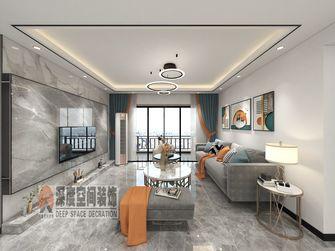 经济型120平米四室两厅现代简约风格客厅图片大全