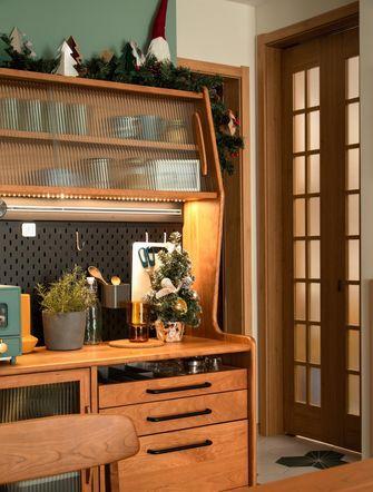 富裕型110平米日式风格走廊设计图
