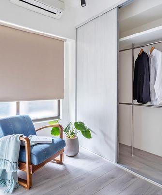 富裕型90平米三室一厅北欧风格衣帽间图