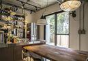 豪华型110平米一室一厅工业风风格餐厅装修效果图