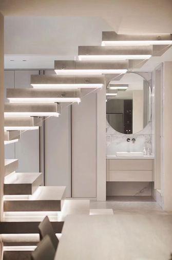 20万以上140平米别墅现代简约风格楼梯间图片