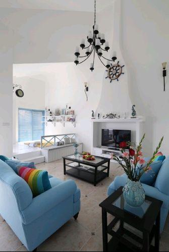 140平米地中海风格客厅欣赏图