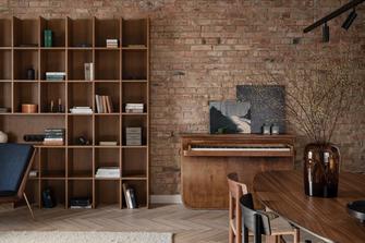 50平米公寓新古典风格客厅装修案例
