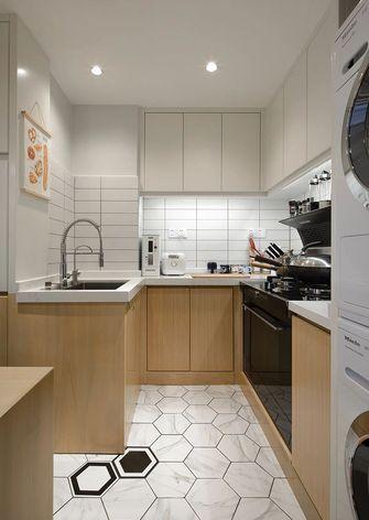 富裕型40平米小户型日式风格厨房图片