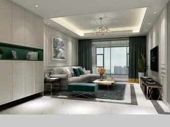 20万以上140平米三室一厅美式风格客厅欣赏图