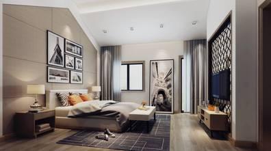 20万以上140平米四室一厅工业风风格卧室装修图片大全