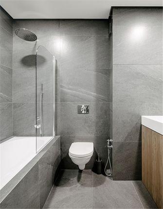 富裕型90平米三室一厅日式风格卫生间装修图片大全