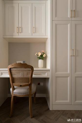富裕型80平米三室两厅美式风格书房装修案例