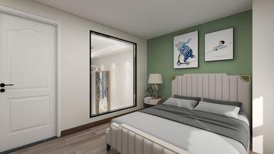 5-10万60平米复式北欧风格卧室图片