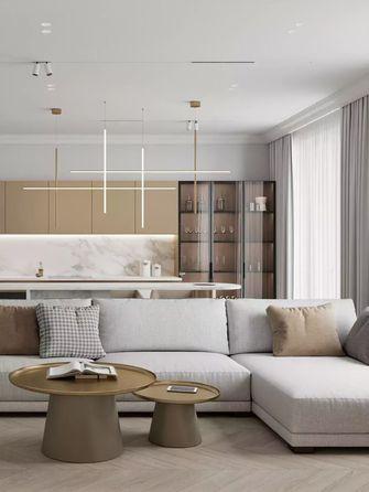 经济型60平米一室两厅现代简约风格客厅设计图