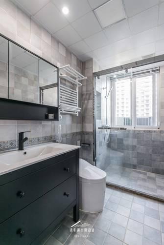 20万以上140平米四室两厅美式风格卫生间欣赏图