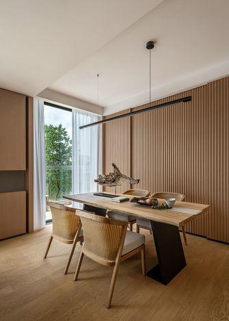 富裕型140平米四室两厅日式风格餐厅效果图