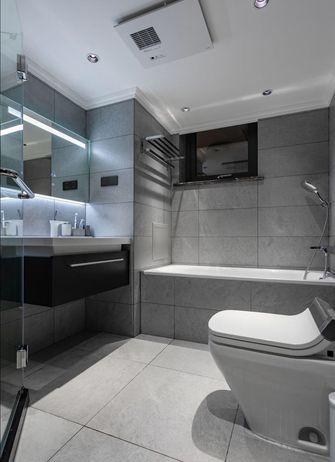 60平米公寓英伦风格卫生间图