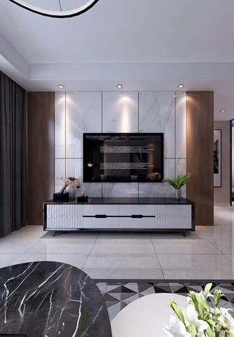 20万以上110平米三室两厅中式风格客厅装修图片大全