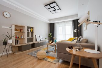 经济型110平米三室两厅欧式风格客厅图片大全