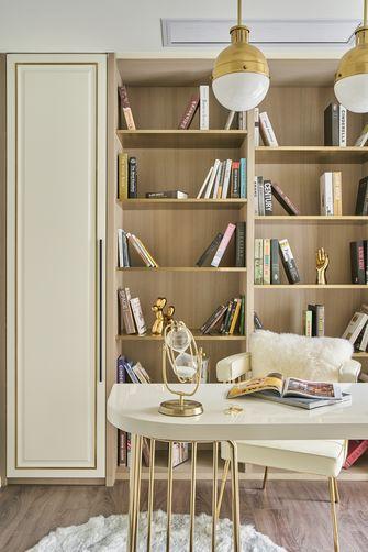 20万以上140平米三室一厅欧式风格书房装修图片大全