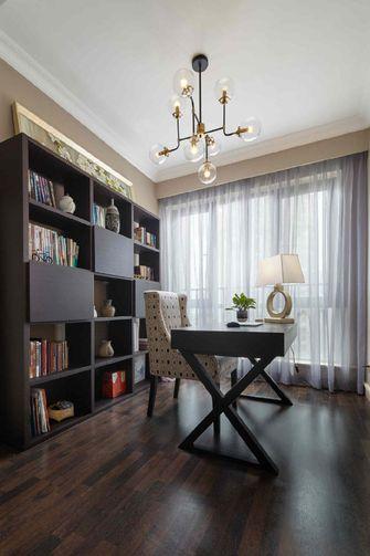 130平米三室两厅中式风格书房图片大全