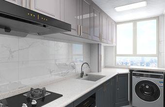 10-15万90平米三室一厅现代简约风格厨房设计图