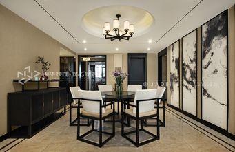 140平米复式中式风格餐厅图片大全