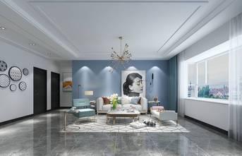 130平米地中海风格客厅欣赏图