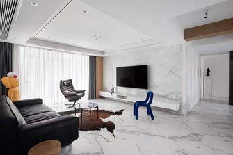 5-10万110平米三室三厅混搭风格客厅欣赏图