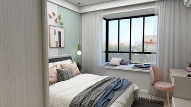 富裕型50平米小户型北欧风格卧室欣赏图