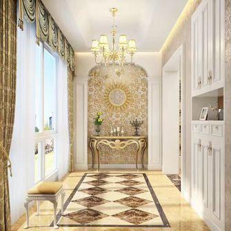 富裕型120平米三室两厅欧式风格玄关图片大全