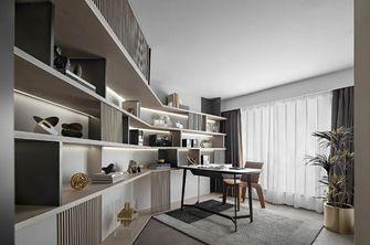 15-20万100平米三室三厅现代简约风格书房图
