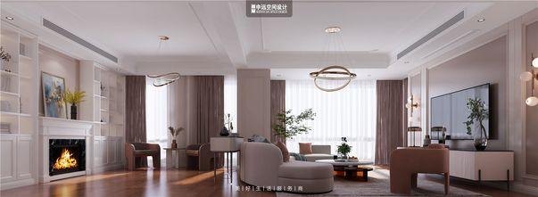 20万以上140平米别墅美式风格客厅欣赏图
