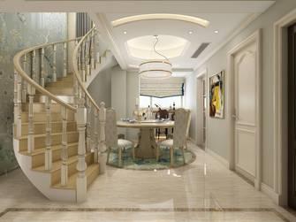 20万以上140平米复式新古典风格餐厅装修图片大全