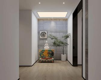 140平米三室两厅轻奢风格走廊欣赏图