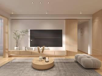 富裕型120平米三室两厅日式风格客厅欣赏图