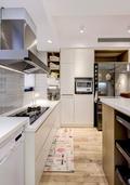 豪华型110平米四室一厅北欧风格厨房装修图片大全