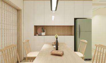 90平米四室一厅日式风格餐厅设计图