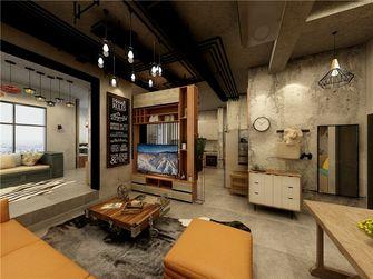 20万以上140平米复式工业风风格客厅装修图片大全