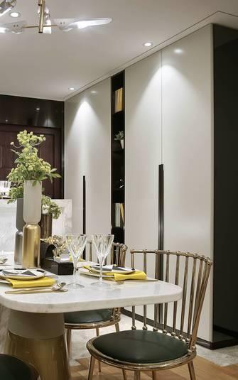 20万以上140平米四室两厅北欧风格餐厅欣赏图