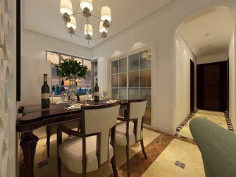 5-10万80平米三室两厅地中海风格餐厅图片大全