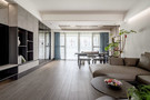 豪华型140平米四室三厅现代简约风格餐厅图