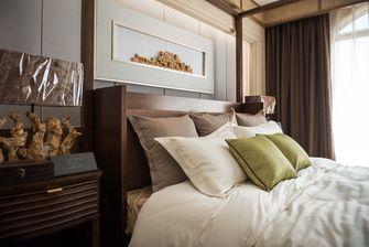 5-10万110平米三室一厅东南亚风格卧室装修案例