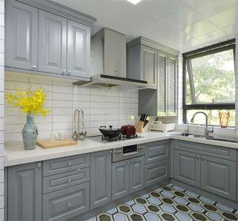 富裕型120平米三室两厅美式风格厨房装修案例