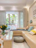 经济型60平米公寓混搭风格客厅装修案例