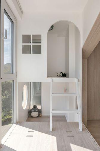 130平米三室两厅日式风格阳台设计图