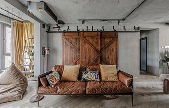 120平米三室一厅工业风风格客厅效果图